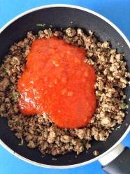 5 añadir tomate