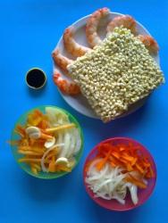 noodles con langostinos ingr