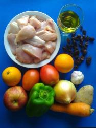 pollo guisado ingr