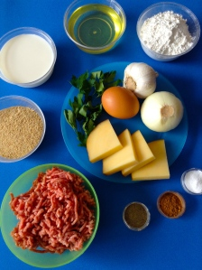 albóndigas rellenas de queso ingr