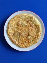 bocadillo de tortilla de chorizo ingrr