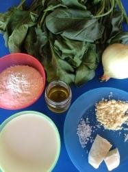 crema de espinacas ingr