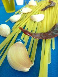 espaguetis al ajillo ingr
