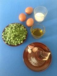 guisantes con jamón ingr