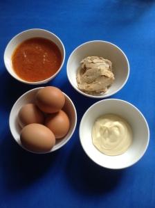 huevos rellenos ingr