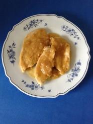 pechuga de pollo con cebolla