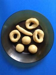 rosquillas formas