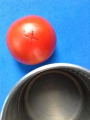 1 escaldar tomate