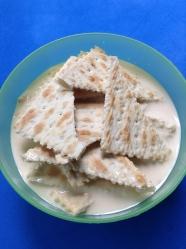 1 galletas en leche