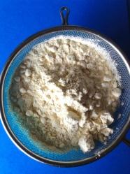 1 tamizar harina