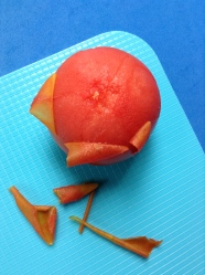 3 escaldar tomate