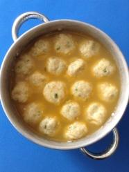 10 añadir los dumplings