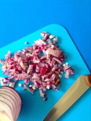 13 picar cebolla roja