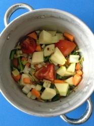 4 añadir verduras