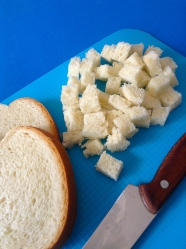 4 partir pan de molde
