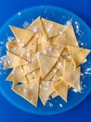 5 nachos cortados