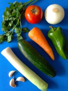 sopa de verduras ingr