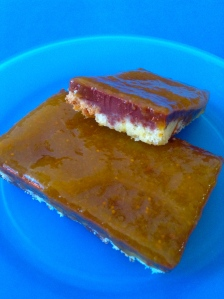 tarta de chocolate con mermelada de higoss