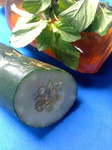 zumo de pepino miel y hierbabuena ingr