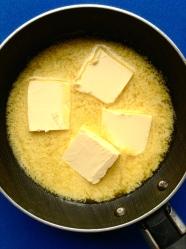 1 derretir mantequilla
