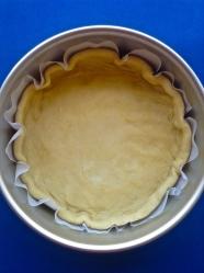1 poner pizza en el molde y hornear 10 minutos