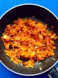 2 rehogar verduras con achiote