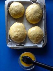 8 untar con huevo