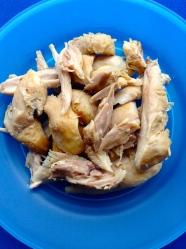 9 desmenuzar pollo