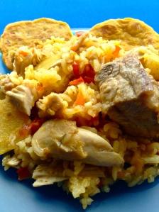 arroz atollado