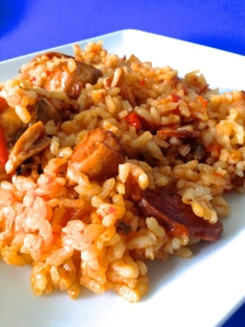 arroz coloraooo
