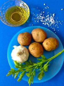 patatas a la plancha con ajo y perejil ingr