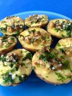 patatas a la plancha con ajo y perejil