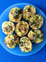 patatas a la plancha con ajo y perejill