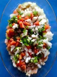 4 añadir verduras picadas