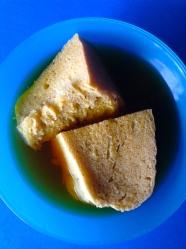 7 poner el pan en el agua