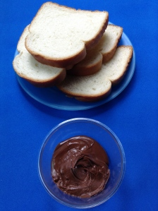 emparedado de crema de chocolate ingr