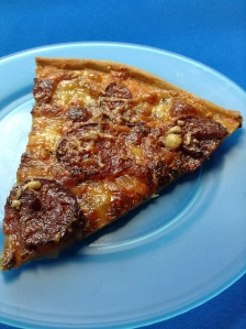 pizza de pepperonii