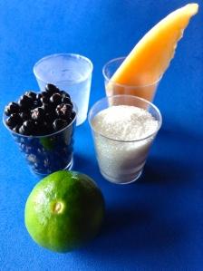 zumo de grose negra y melón ingr