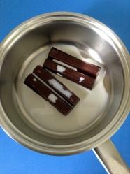 2 derretir el chocolate