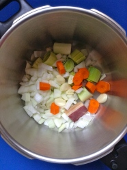 2 trocear las verduras