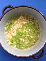 9 rehogar cebolla ajo pimiento
