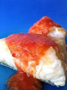 bacalao con tomatee