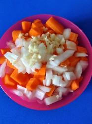 3 picar verduras