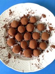 8 con cacao en polvo