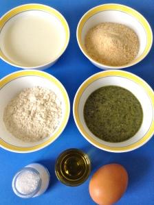 croquetas de salsa pesto ingr