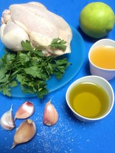 pollo asado en cazuela ingr