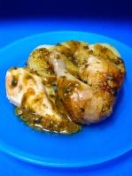 pollo asado en cazuelaaa