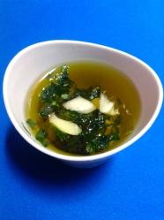 1 poner ajo y perejil en aceite