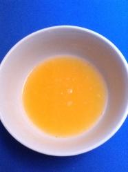 1 zumo de mandarina