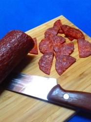 5 cortar chorizo